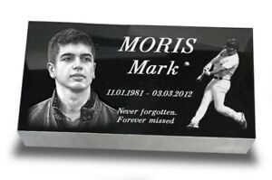 20-034-x10-034-x3-034-Human-Headstone-tombstone-on-the-Grave-Marker-people-laser-engrave
