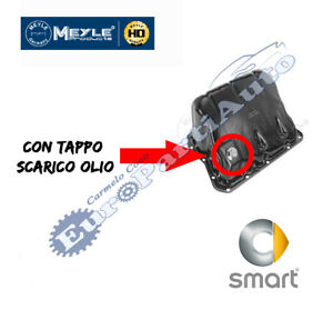 Coppa-olio-smart-450-451-modificata-con-tappo-di-scarico-olio