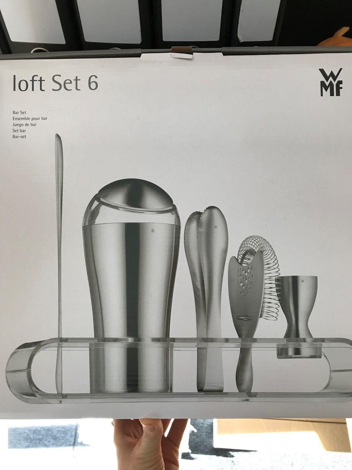 WMF Bar-Set 6-teilig 6-teilig 6-teilig Loft Edelstahl rostfrei NEU | Online Shop  e60815