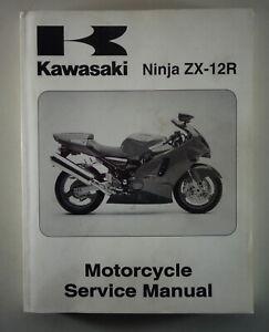 Workshop Manual Kawasaki Ninja ZX-12R From 03/2000 | eBay | Wiring Schematics 2000 Kawasaki Zx 12r |  | eBay