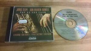 CD-Jazz-Joris-Teepe-Don-Braden-Quintet-Pay-As-You-Earn-10-Song-MONS-REC