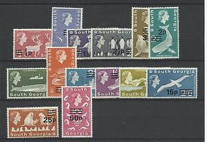 South-Georgia-1971-17-30-VF-MNH-V-7493