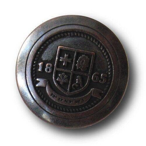 "5461rei metal blazer botones m 5 hierro histórica-kupferfb emblema/"" 1865/"""