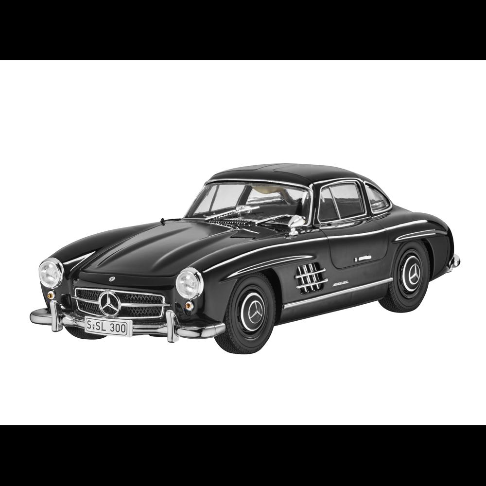Mercedes - benz 300 sl w 198 - coup é schwarz 1,18 neuf emballage scell é minichamps