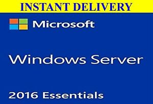 Details about ISO Download Link+ Microsoft Windows Server 2016 Essentials  License+Retail Key!!