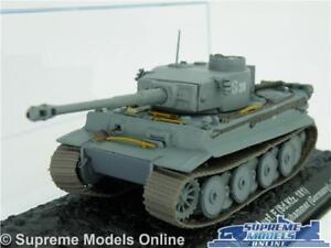 PZ KPFW VI TIGER TANK MODEL 1:72 SIZE ARMY MILITARY IXO ALTAYA GERMANY 1943 T3