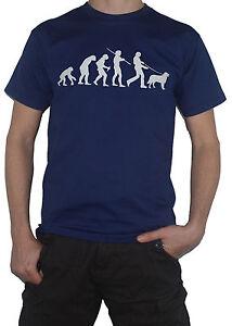 NEW-Golden-Retriever-Evolution-T-Shirt-Funny-Evolution-of-Man-Dog-Walking-Top