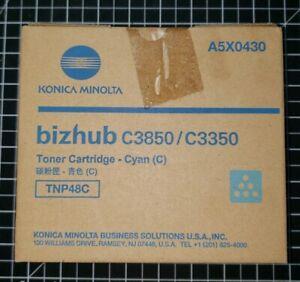 Konica-Minolta-TNP48C-Cyan-Toner-Cartridge-A5X0430-for-Bizhub-C3850-C3350-New
