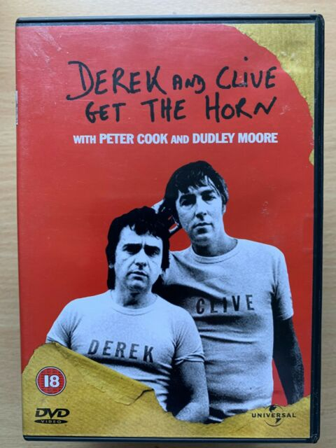 Derek and Clive Get the Horn DVD 1979 Comedy Classic w Peter Cook + Dudley Moore
