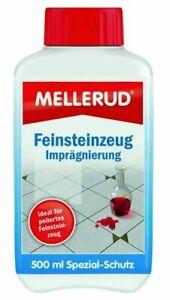 €23,98/L MELLERUD Feinsteinzeug Imprägnierung 0,5 Liter Marmor Feinstein Klinker