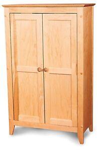 Pie Safe Double Doors Kitchen Pantry Linen Closet Jelly Cabinet Storage Wood Ebay