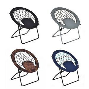 Bon Image Is Loading Folding Home Garden Round Patio Bungee Chair Steel