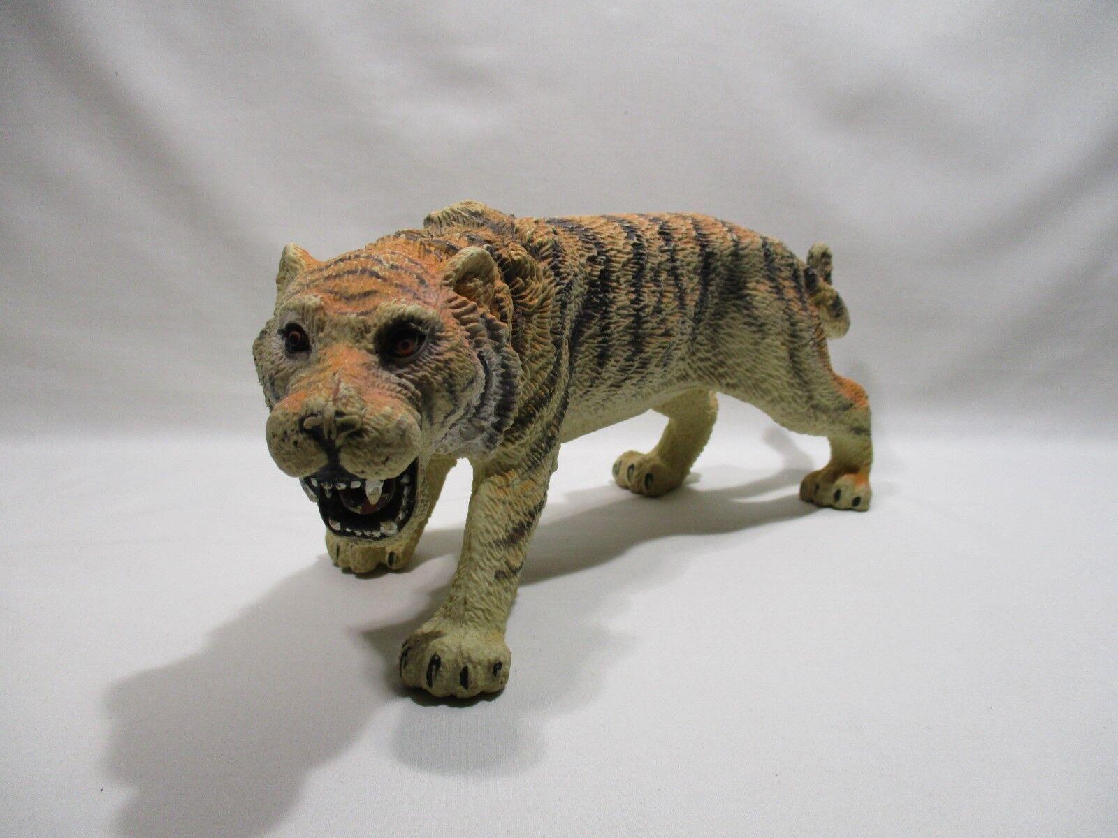 JUEGO JUGUETE FIGURA ANIMAL TIGRE MARCA T.M 1994