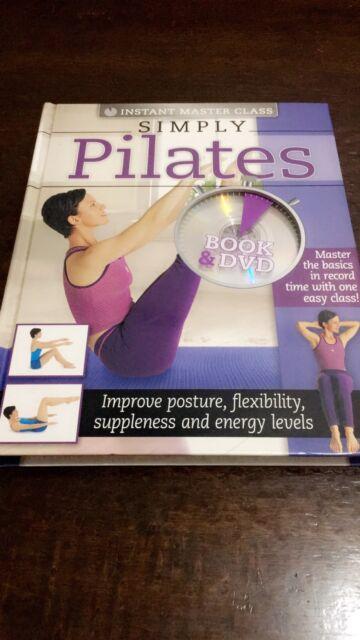 Simply Pilates book + DVD (Hardback, 2010)