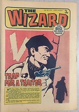 THE WIZARD weekly British comic book July 28, 1973
