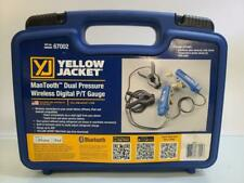 Yellow Jacket 67002 Mantooth Wireless Digital Dual Pressure Pt Gauge Set