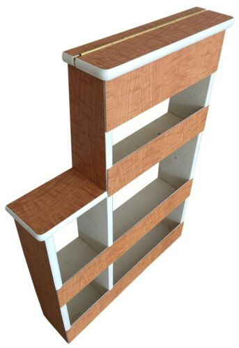 Westfalia SO42 Spice Rack with Matching Wood Lid C9608