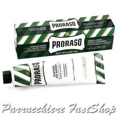 Shaving Soap in a Tube Proraso ® Sapone da Barba in Tubo 150ml con EUCALIPTO