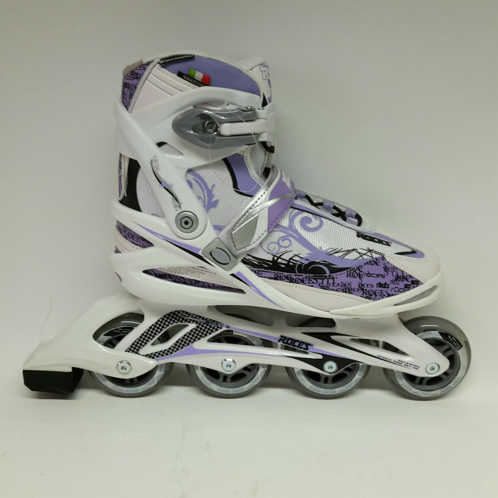 Roces Yris weiss lila Damen  Fitness Fitness Fitness Inline Skates  Inliner Gr. 41 Sale Abec 5 da2a4d