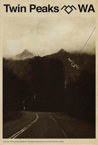 Art Fabric Poster Twin Peaks New US 2017 Movie Vintage room decor 24x36 F244
