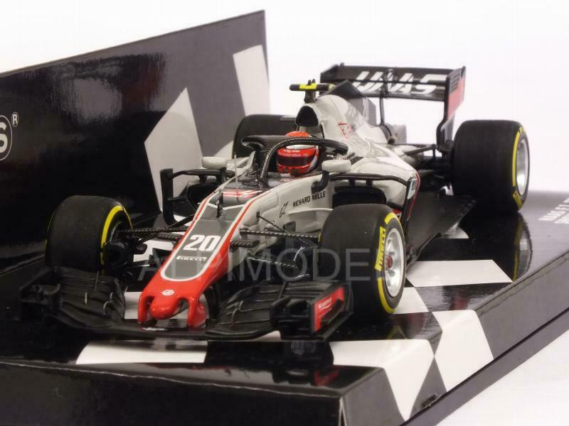 HAAS F1 Team Showcar 2018 Kevin Magnussen HQ Resin 1 43 MINICHAMPS 417189020