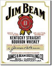 Jim Beam White Label Kentucky Whiskey USA Werbung