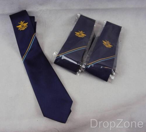 Neu 3 X Sultan von Oman/'s Omani Royal Armed Forces Raf Blau Krawatte