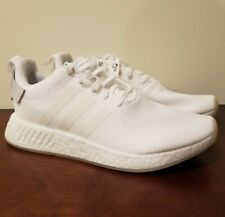 adidas NMD R2 Triple White Cq2401 Running Shoes Men's Size 9