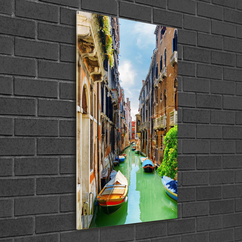 - Muro ARTE Immagine pressione rigida-VETRO verdeICALE 50x100 Venezia Italia