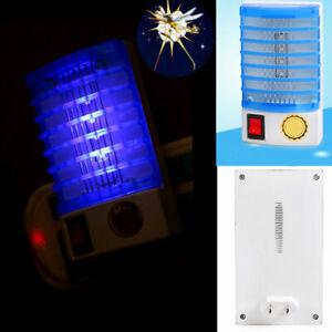 Home-Insecto-Zapper-LED-Socket-Electric-Luz-de-noche-Lampara-mata-mosquitos