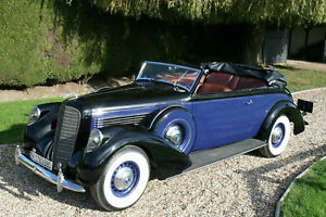 1938-V12-Lincoln-Model-K-Convertible-Victoria-by-Brunn-Special-Car-with-Presence