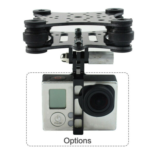 Antivibration Camera Gimbal Mount Carbon For GoPro Hero For DJI Phantom RC Drone