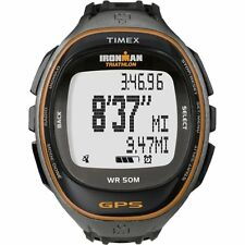Timex Full-Size T5K549 F5 Ironman Run Trainer GPS Watch NEW