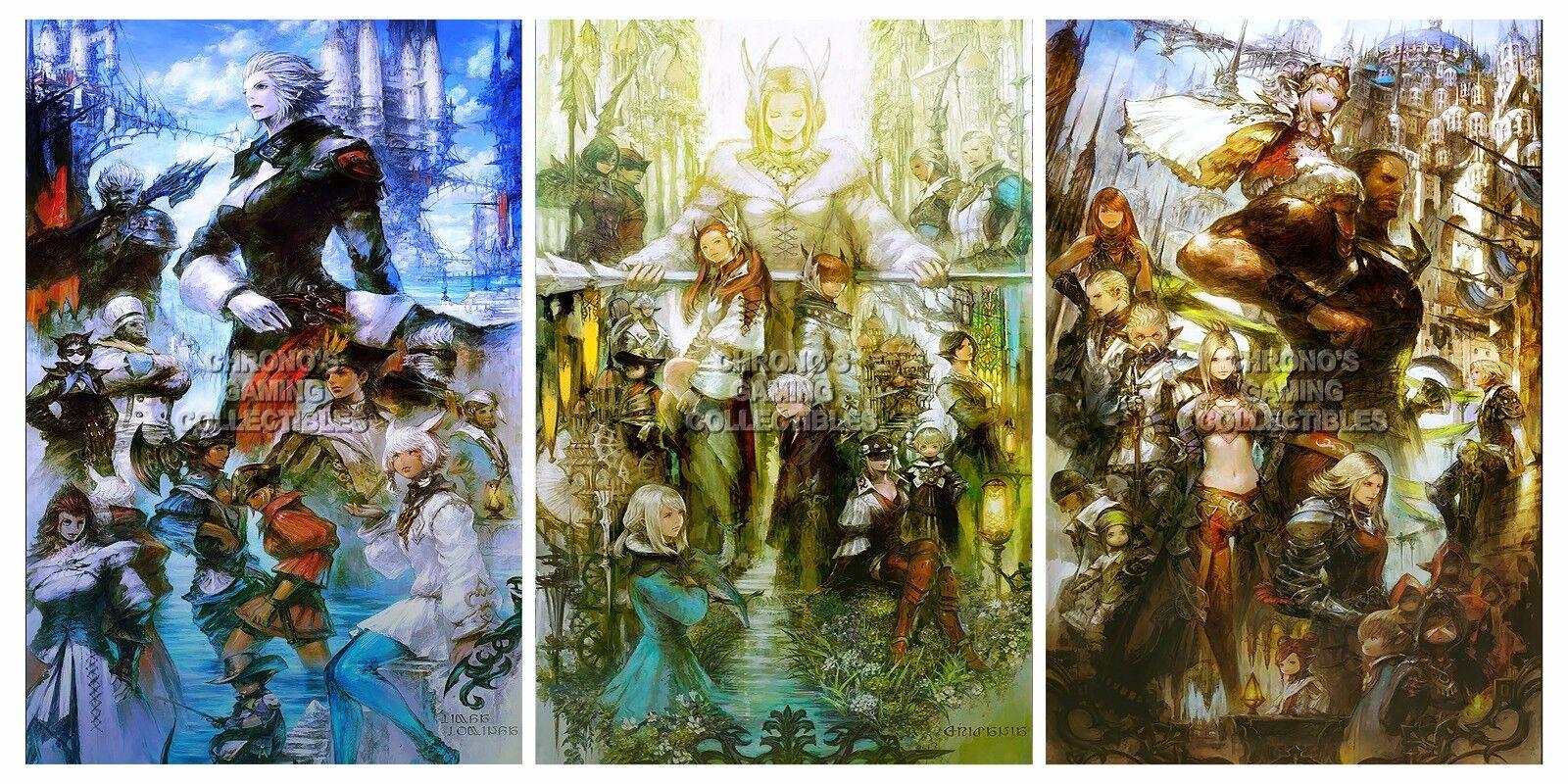 RGC Huge Poster - Final Fantasy XIV Art Posters PS3 PS4 - FXIVSET1