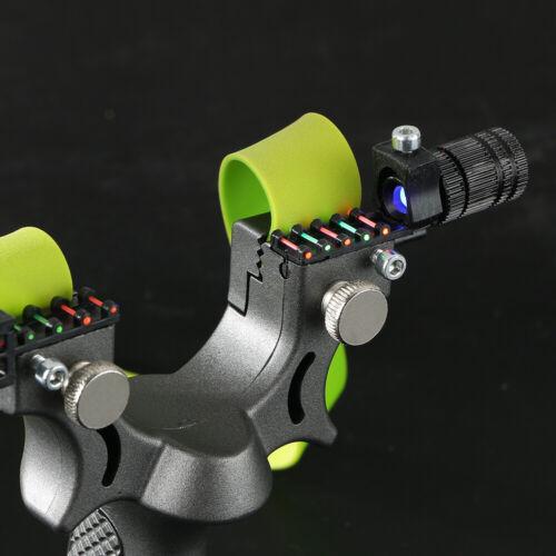 Profi Survival Katapult Steinschleuder aus Stahl Zwille Sportschleuder Draussen