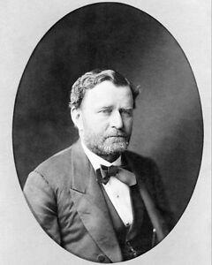 U.S President Ulysses S Grant Portrait 8x10 Silver Halide Photo Print