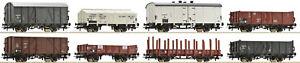ROCO-67128-8-teiliges-Wagenset-NS-Auf-Wunsch-Achstausch-fuer-Maerklin-gratis-NEU