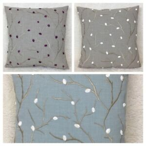 John-Lewis-Voyage-Perry-Fabric-Cushion-Cover-Various-Colours-Double-Sided
