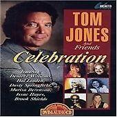 Tom Jones  and Friends - Celebration  DVD & AUDIO  NEW & SEALED