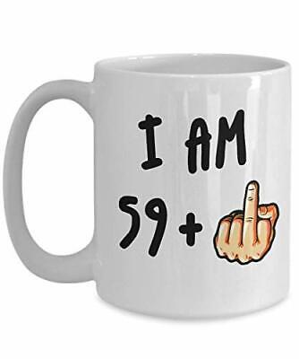 I am 49 50th Birthday mug middle finger gift her//him//women//men//rude//funny mug