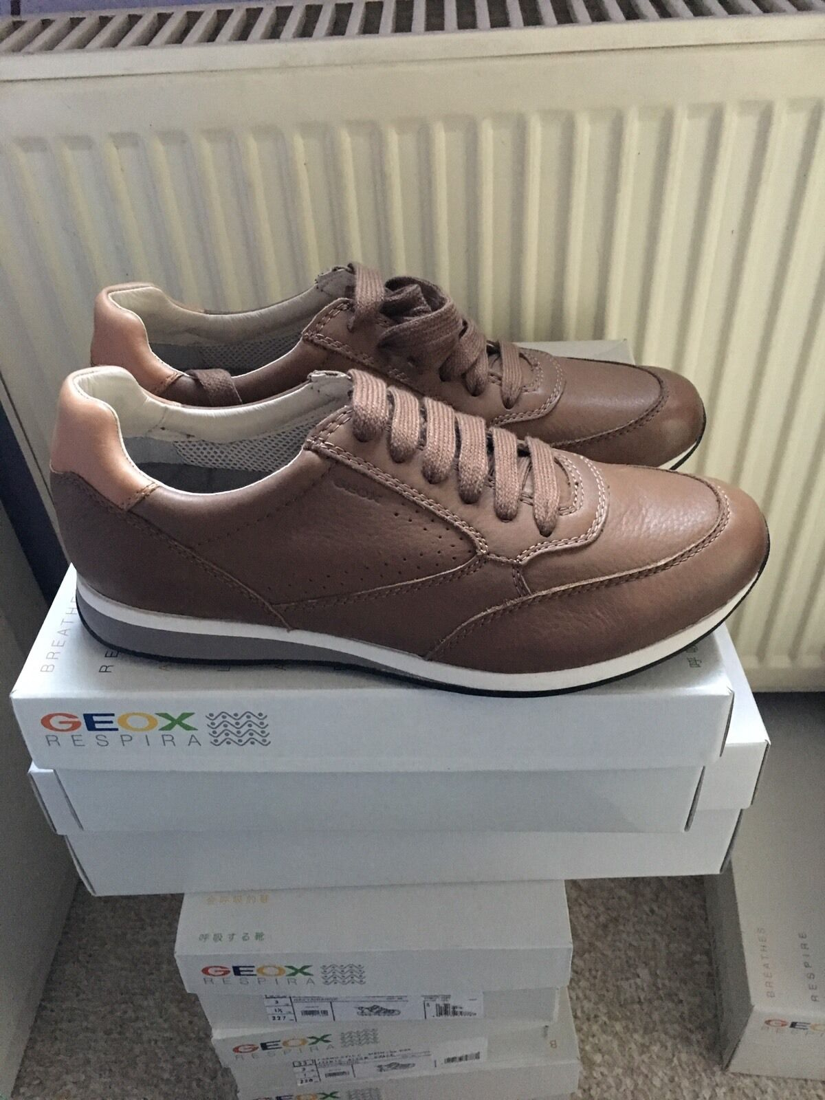 Geox U Marvin A - Tumbled.Leather Herrensneaker (U42X6A) Gr: Wählbar neu in Kart