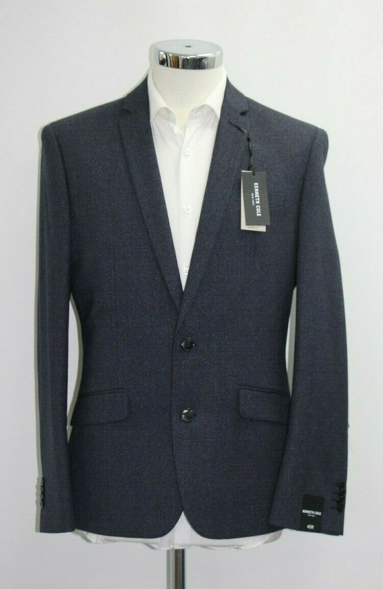 Men's Kenneth Cole, Navy 2pc Suit (38S).. sample 3615