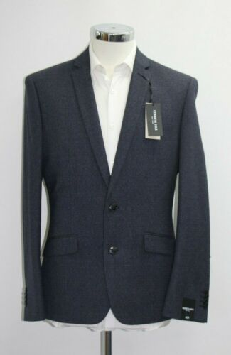 sample 5188 . Men/'s Kenneth Cole Navy 2pc Suit 40R
