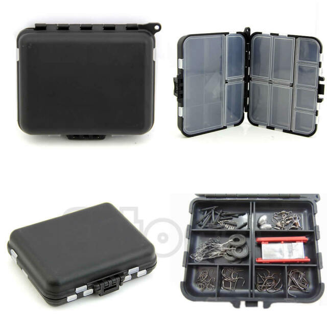 Fishing Lure Bait Tackle Waterproof Storage Box Case With 26 Compartments