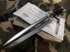 """Hibben Expendables Double Shadow Edge Dagger Knife 15 1/4"""" Stainless Fixed 5041"""