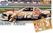 CD_DC_1988 #12 Bobby Allison  1988 Buick Regal NASCAR 1:64 scale decals