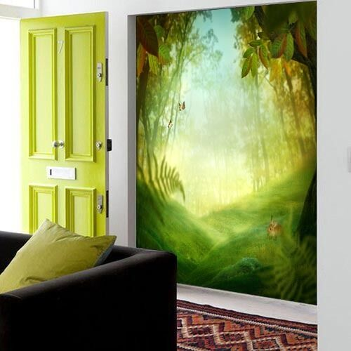 Mega 3D Fresh Green World309 Wall Paper Wall Print Decal Wall Deco Indoor Murals