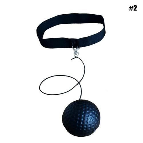 Fight Ball Reflex Boxing Trainer Training Boxer Speed Punch Head String Cap L0Z1