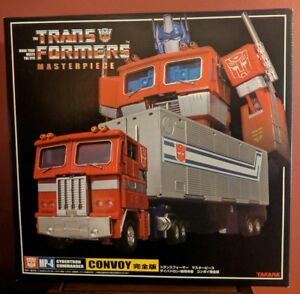 TAKARA-TRANSFORMERS-MASTERPIECE-OPTIMUS-PRIME-MP-4-CONVOY-AUTHENTIC-BNIB