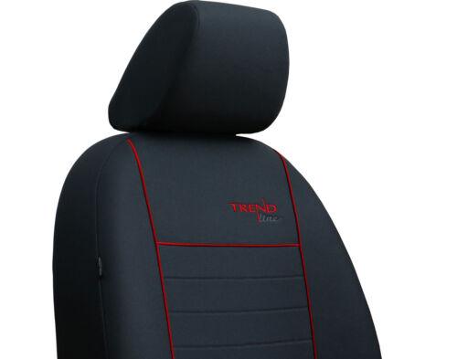 Vauxhall Corsa D 3 puertas 2006-2014 cubiertas de asiento de tela fuerte hecho a la medida